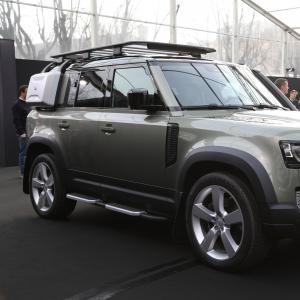 Land Rover Defender au Festival Automobile International 2020