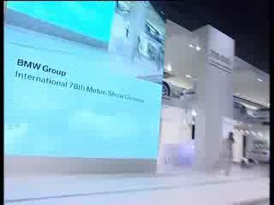 Presentation du Stand BMW