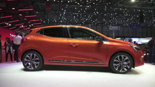 Salon de Genève 2019 : la Clio 5 de Renault en vidéo