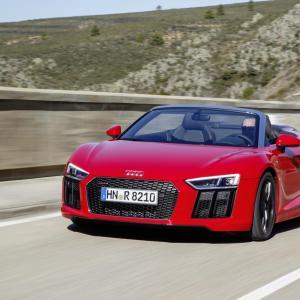 Audi R8 : trailer vidéo avant l'annonce du 2 octobre au Mondial de l'Auto 2018