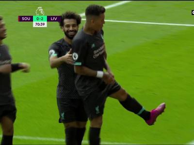 Southampton - Liverpool : le but de Firmino