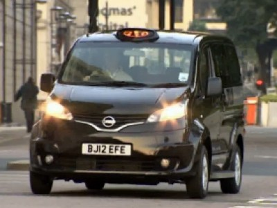 Nissan NV200 taxi londonien