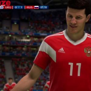 Uruguay - Russie : notre simulation sur FIFA 18