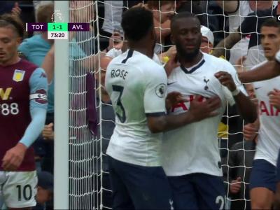 Premier League - 1ère Journée - Le 1er but de Ndombele avec les Spurs