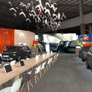 Citroën : visite virtuelle du stand de la marque française au Mondial de l'Auto 2018