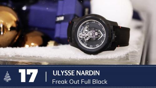 #17 Ulysse Nardin Freak out full black