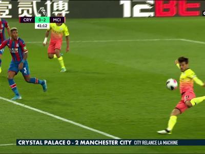 Crystal Palace - Manchester City : les buts et le résumé de la rencontre