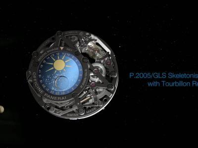Panerai Astronomo : présentation de la montre en vidéo