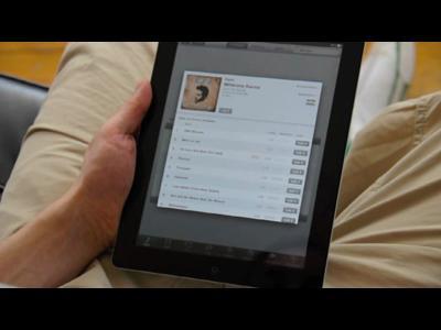 Le premier magazine pour iPad en HTML 5