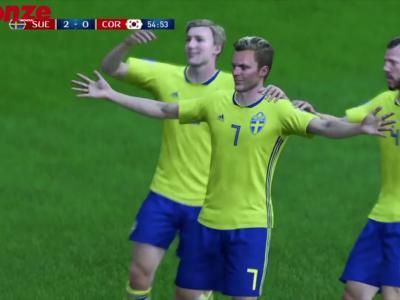 Suède - Corée du Sud : notre simulation sur FIFA 18