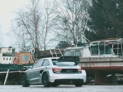L'Audi S1 Rallycross de Matthias Ekström défiée par son modèle réduit
