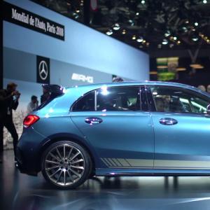 Mondial de l'Auto 2018 : la Mercedes AMG A 35 en vidéo