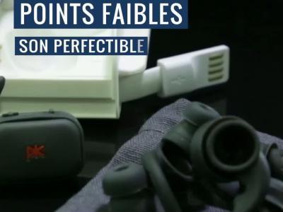 PKparis K'asq Sport : notre test des True Wireless sport