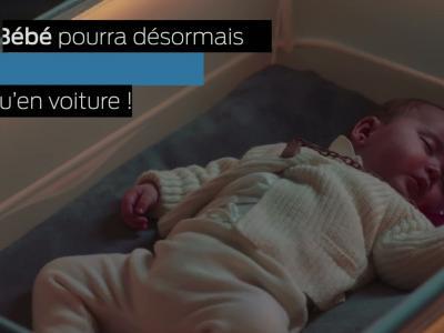 Ford dévoile le Max Motor Dreams, un siège bébé vibrant et connecté
