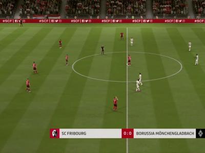 SC Fribourg - Borussia M'Gladbach sur FIFA 20 : résumé et buts (Bundesliga - 30e journée)