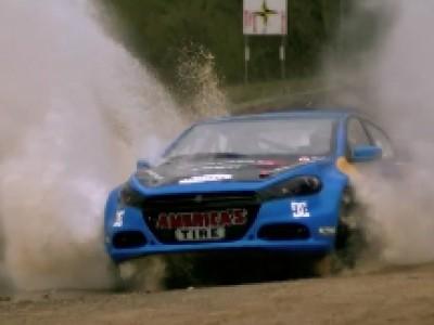 Une Dodge Dart de rallye pour Travis Pastrana