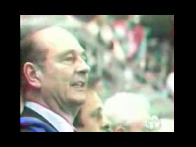 Chirac Coupe du monde 98