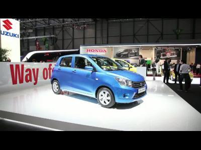 Genève 2014 : Suzuki Celerio