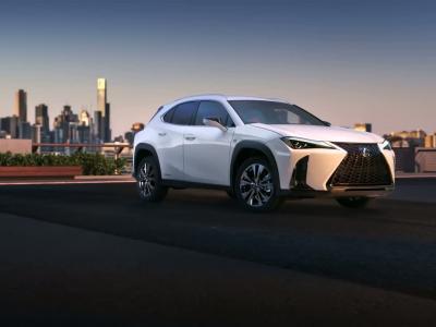 Lexus UX : la vidéo avant Genève