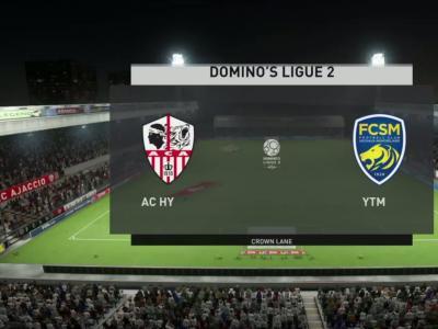 AC Ajaccio - FC Sochaux : notre simulation FIFA 20 (L2 - 30e journée)