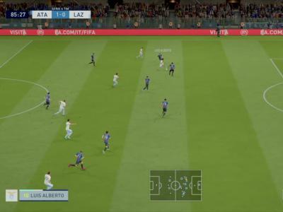 Atalanta Bergame - Lazio Rome sur FIFA 20 : buts et résumé (Serie A - 27e journée)