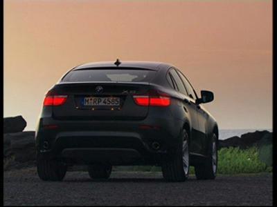 BMW X6 - vues extérieures