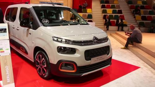 Mondial de l'Auto 2018 : le Citroën Berlingo en vidéo