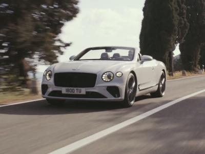 Bentley Continental GT Convertible : vidéo officielle de présentation