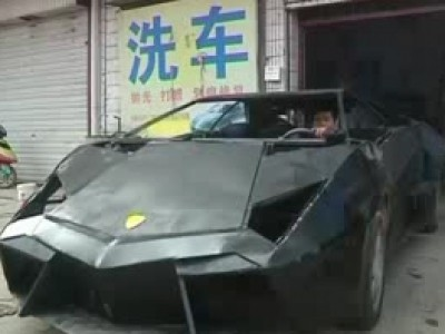 Une réplique chinoise de la Lamborghini Reventon