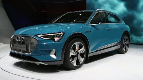 Mondial de l'Auto 2018 : l'Audi e-tron en vidéo