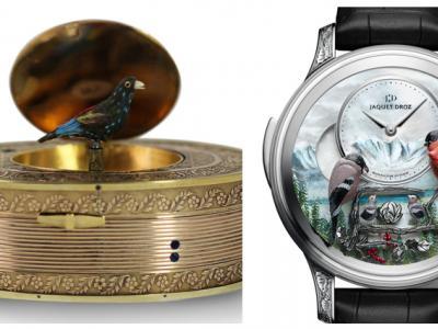 Jaquet Droz, les beaux arts de l'horlogerie