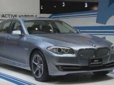 Tokyo 2011 : BMW Série 5 ActiveHybrid