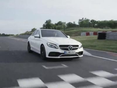 Première vidéo de la Mercedes C63 AMG S