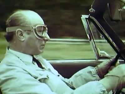 Juan Manuel Fangio communique pour Pirelli