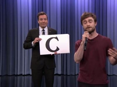 Daniel Radcliffe et Jimmy Fallon