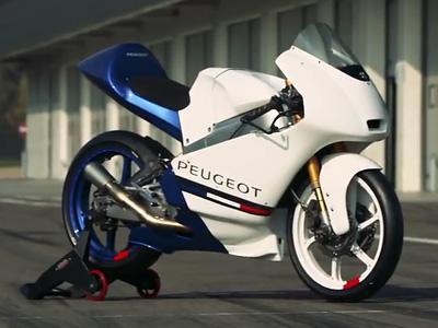 Quand Peugeot se lance dans la compétition moto