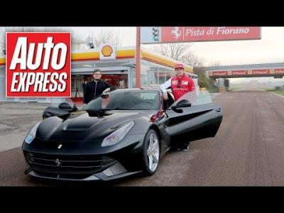 Vivez un tour embarqué avec Kimi Raikkonen en Ferrari F12