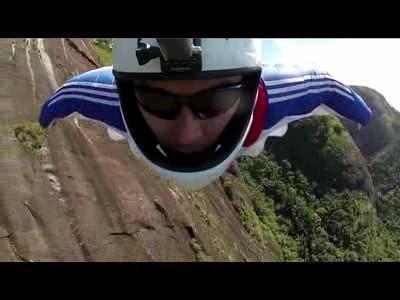 Base Jump au Chili
