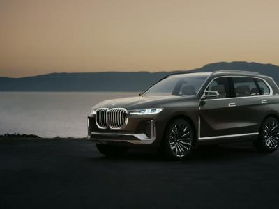 BMW X7 iPerformance Concept : le SUV XXL selon Munich