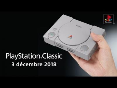 """PlayStation Classic : vidéo de présentation de la PlayStation """"mini"""""""