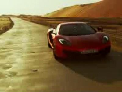 McLaren MP4-12C une perle dans le désert