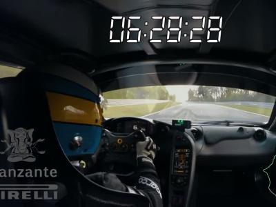 McLaren P1 LM : la voiture de route la plus rapide du Nürburgring, c'est elle