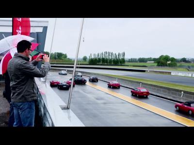 Ils ont vécu l'expérience Alfa Romeo 4C à Nogaro