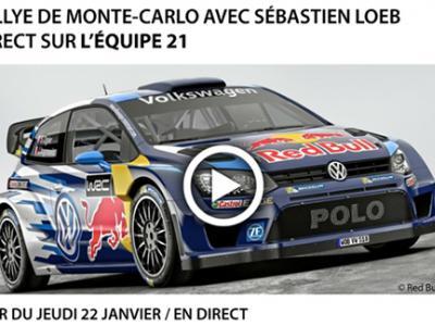 Où regarder le Rallye de Monte-Carlo 2015 ?