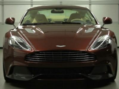 Aston Vanquish 2012