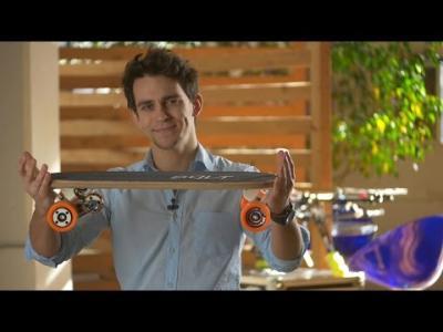 Vidéos : Bolt : le skate électrique