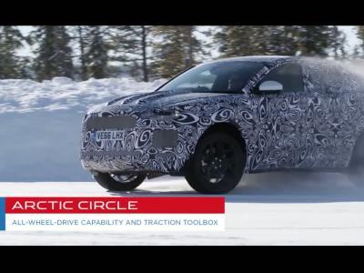 Le Jaguar E-Pace affronte tous les terrains avant sa présentation