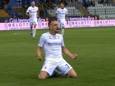 Serie A : Ribéry ouvre son compteur d'une magnifique volée !