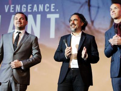 L'avant première de The Revenant au Grand Rex à Paris