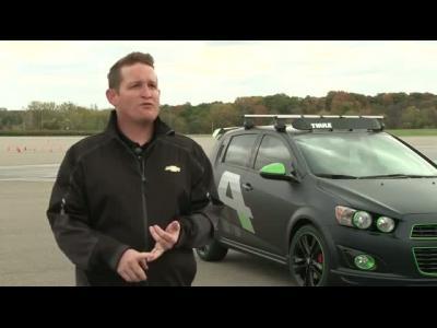 La Chevrolet Sonic RS Performance du SEMA Show en vidéo